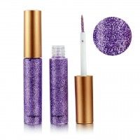 Colorful Sequins Pearlescent Liquid Eye Shadow - Purple