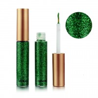Colorful Sequins Pearlescent Liquid Eye Shadow - Green