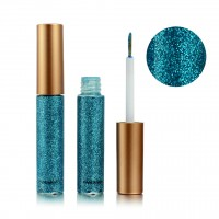 Colorful Sequins Pearlescent Liquid Eye Shadow - Sky Blue