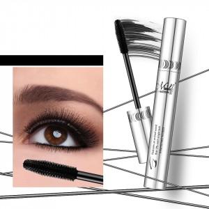 Women's Makeup Waterproof Thick Mascara - Black