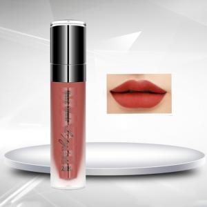 Girls Fashion Dazzling Shiny Lip Gloss - Rosy Brown