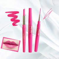 Rotating Double Headed Moisturizing Lip Liner - Rose Pink