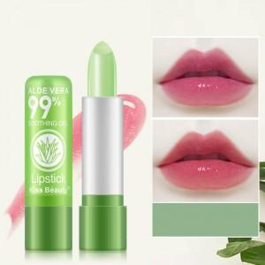 Women Moisturizing And Moisturizing Aloe Lip Balm - Green
