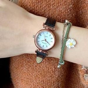 Vintage Style Old fashion Fancy Wear Wrist Watch - Black