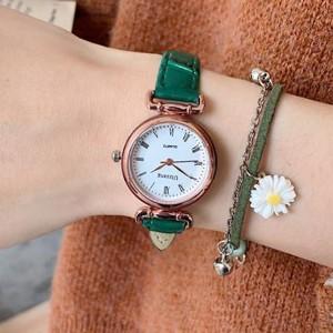 Vintage Style Old fashion Fancy Wear Wrist Watch - Green