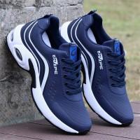 Attractive Design Non Slip Comfortable Casual Wear Sneakers - Blue