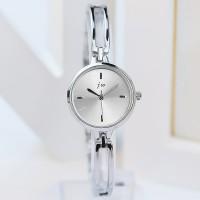 Modern Silver Dial High Quality Women Fashion Bracelet Wrist Watch - Silver
