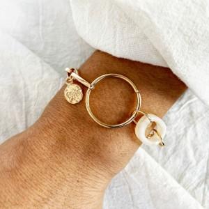 Ladies Simple Chain Retro Bracelet - Golden