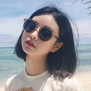 New Arrival Girls Fashion Retro Sunglasses - Champagne