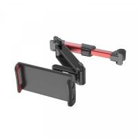 Adjustable Easy Installation Car Headrest Seat Stand Mobile Holder - Red