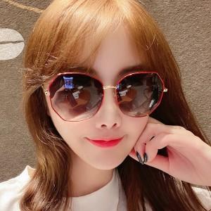 Women Trend Anti Ultraviolet Polarized Sunglasses - Red