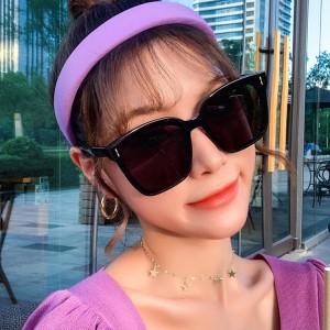Fashion Unisex UV Protection Sunglasses - Balck
