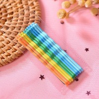 High Quality Hair Styling Plastic Hair Clips - Light Shades