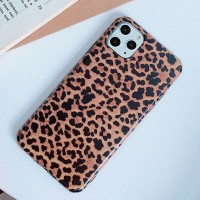 Printed Fashionable Animal Textured Mobile Case Cover For Mobiles Phones - Brown