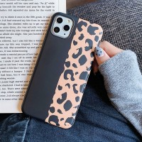 Printed Fashionable Animal Textured Mobile Case Cover For Mobiles Phones - Black Multicolor