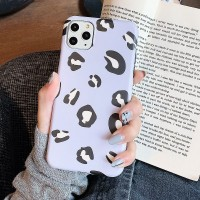Printed Fashionable Animal Textured Mobile Case Cover For Mobiles Phones - Purple