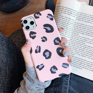 Printed Fashionable Animal Textured Mobile Case Cover For Mobiles Phones - Pink