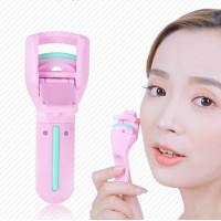 Women Makeup Tool Portable Eyelashes Curlers - Pink