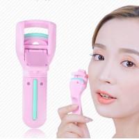 Women Makeup Tool Portable Eyelashes Curlers - Pink