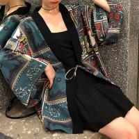 String Closure Bohemian Outwear Women Fashion Cardigan