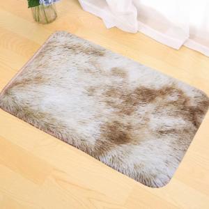 Fluffy Soft Home Decorative Door Mats - Khaki