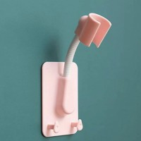 Easy Wall Adhesive Shattaf Toilet Bathroom Shower Holder - Pink
