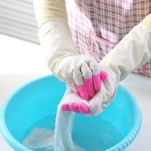High Quality Hand Safety Skin Protective Gloves - Pink