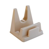 High Quality Plastic Kitchenware Lid Holder Rack - Apricot