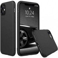 Silicon Protective Hard Case Cover For iPhone Models - Black