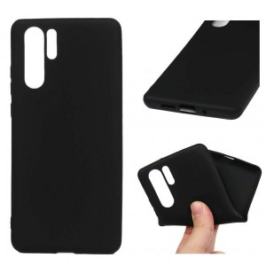 Silicon Foldable Protective Huawei Smart Phone Case Cover - Black