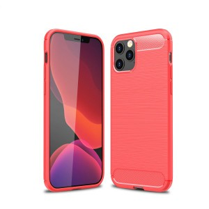 Corners Protective High Quality Plastic Mobile Cover Case For iPhone - Red