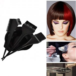 Set of 4 Pcs Hair Color Dye Comb Brushes Tool Kit