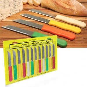 12 Pieces Stainless Steel Kitchen Knives Set