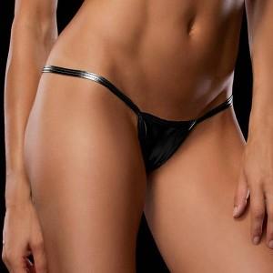 Women Micro Mini Transparent Sexy Panties - Black