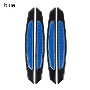 4 Pcs Car Door Stickers Universal Safety Warning Mark High Reflective - Blue