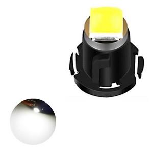 Car Dashboard Retrofit Mini T3 Led Bulb Super Bright - White