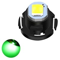 Car Dashboard Retrofit Mini T3 Led Bulb Super Bright - Green