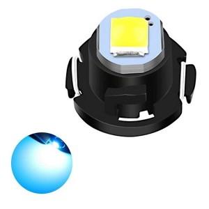 Car Dashboard Retrofit Mini T3 Led Bulb Super Bright - Light Blue