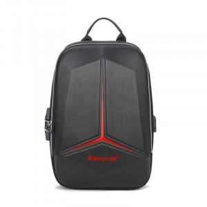 Zipper Closure Protective Casual Smart Backpack - Multicolor