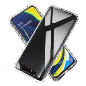 Samsung A90 Crystal Clear Transparent New Model High Quality Anti Damage Case Cover