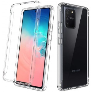 Samsung A91 Crystal Clear Transparent New Model High Quality Anti Damage Case Cover