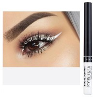 Glittery Finish Waterproof High Quality Eye Liner - White