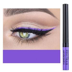 Glittery Finish Waterproof High Quality Eye Liner - Purple