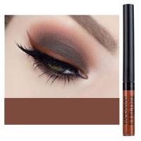 Glittery Finish Waterproof High Quality Eye Liner - Brown