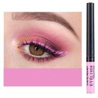 Glittery Finish Waterproof High Quality Eye Liner - Pink