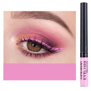 Glittery Finish Waterproof High Quality Eye Liner - Pink