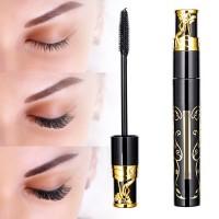 Water Resistant Long Lasting Eye Mascara With Two Eye Liner - Black