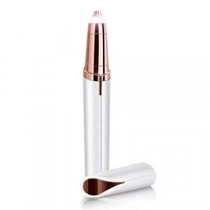 Smart Pen Shaped Modern Eye Brow Shaping Trimmer - White