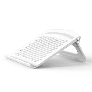 Creative Hollow Base Air Passage Modern Laptop Stand - White
