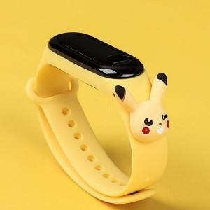 Cute Bunny Kids Wear Silicon Strap Smart Watch